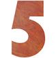 BELLISSA Hausnummer Nr. 5, braun-Thumbnail