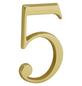 ANSAPRO Hausnummer Nr. 5, goldfarben-Thumbnail
