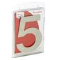ANSAPRO Hausnummer Nr. 5, silberfarben-Thumbnail