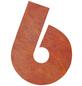 BELLISSA Hausnummer Nr. 6, braun-Thumbnail