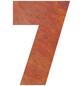 BELLISSA Hausnummer Nr. 7, braun-Thumbnail