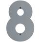 BELLISSA Hausnummer Nr. 8, braun-Thumbnail
