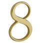 ANSAPRO Hausnummer Nr. 8, goldfarben-Thumbnail