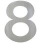 ANSAPRO Hausnummer Nr. 8, silberfarben-Thumbnail