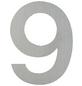 ANSAPRO Hausnummer, Nr. 9, silberfarben, Stahl-Thumbnail