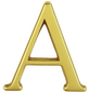 ANSAPRO Hausnummer Nr. A, goldfarben-Thumbnail