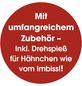 GOURMETmaxx Heißluft-Fritteuse, 1800 W, schwarz-Thumbnail