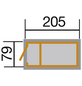 WEKA Hochbeet, B x L x H: 217,6 x 79 x 81 cm-Thumbnail