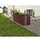 VITAVIA Hochbeet »Terra 858«, BxHxL: 82,1 x 85,8 x 162,1 cm, Zink/Aluminium-Thumbnail
