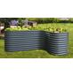VITAVIA Hochbeeterweiterung »Terra Curve«, BxHxL: 80 x 86 x 80 cm, Zink/Aluminium-Thumbnail