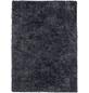 b.b home passion Hochflor-Teppich »BB«, BxL: 70 x 140 cm, blau-Thumbnail