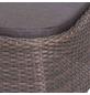SIENA GARDEN Hocker »Teramo«, Gestell: Aluminium, inkl. Auflage-Thumbnail