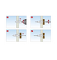 TOX Hohlraumdübel, Glasfaserverstärktes Polyamid, 4 Stück, 8 x 32 mm-Thumbnail