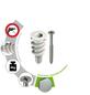 TOX Hohlraumdübel, Glasfaserverstärktes Polyamid, 50 Stück, 12 x 32 mm-Thumbnail
