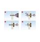 TOX Hohlraumdübel, Zinkdruckguss, 4 Stück, 6 x 39 mm-Thumbnail