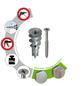 TOX Hohlraumdübel, Zinkdruckguss, 50 Stück, 10 x 32 mm-Thumbnail