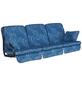 ANGERER FREIZEITMÖBEL Hollywoodschaukelauflage »Comfort«, blau, Abstrakt, BxL: 180 x 56 cm-Thumbnail