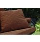 ANGERER FREIZEITMÖBEL Hollywoodschaukelauflage »Joy«, Uni, terracotta, 54 cm x 180 cm-Thumbnail