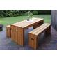 PROMADINO Holz-Garnitur, 6 Sitzplätze, Kiefer-Thumbnail