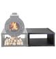 KANUK® Holzaufbewahrung, BxL: 76 x 73 cm, Stahl-Thumbnail