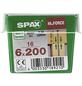 SPAX Holzbauschraube, 6 mm, Stahl, 16 Stk., HI.FORCE 6x200 M-Thumbnail
