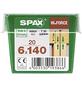SPAX Holzbauschraube, 6 mm, Stahl, 20 Stk., HI.FORCE 6X140 M-Thumbnail