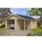 LASITA MAJA Holzgarage »Nevis«, B x T: 500 x 550 cm (Außenmaße ohne Dachüberstand)-Thumbnail