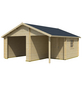 Holzgarage »Nevis«, BxT: 500x590 cm-Thumbnail