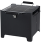 TEPRO Holzkohlegrill »Chill & Camp Grill Cube«, Grillfläche 31,5 x 31,5 cm, mit Deckel-Thumbnail