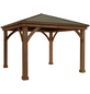 Westmann Holzpavillon »Devon«, Walmdach, rechteckig, BxHxT: 366 x 320 x 366 cm-Thumbnail