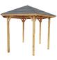 WOLFF Holzpavillon »Kreta 6«, Sechseckdach, sechseckig, BxT: 366 x 257 cm-Thumbnail