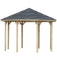 WOLFF Holzpavillon »Kreta 8«, achteckig, achteckig, BxT: 327 x 327 cm-Thumbnail