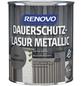 RENOVO Holzschutz-Lasur für außen, 0,75 l, grau, seidenglänzend-Thumbnail