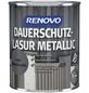 RENOVO Holzschutz-Lasur für außen, 0,75 l, silber-metallic, seidenglänzend-Thumbnail