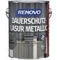 RENOVO Holzschutz-Lasur für außen, 2,5 l, grau, seidenglänzend-Thumbnail