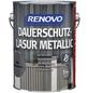 RENOVO Holzschutz-Lasur für außen, 2,5 l, silber-metallic, seidenglänzend-Thumbnail