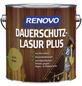 RENOVO Holzschutz-Lasur für außen, 4 l, Eiche, seidenglänzend-Thumbnail