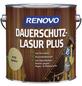 RENOVO Holzschutz-Lasur, für außen, 4 l, farblos, seidenglänzend-Thumbnail