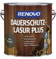 RENOVO Holzschutz-Lasur »PLUS«, Ebenholz-Thumbnail