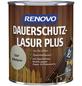 RENOVO Holzschutz-Lasur »PLUS« für außen, 0,75 l, achatgrau-Thumbnail