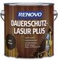 RENOVO Holzschutz-Lasur »PLUS«, für außen, 4 l, braun-Thumbnail