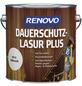 RENOVO Holzschutz-Lasur »PLUS« für außen, 4 l, kalkweiß-Thumbnail