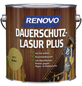 RENOVO Holzschutz-Lasur »PLUS« für außen, 4 l, Kiefer-Thumbnail