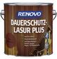 RENOVO Holzschutz-Lasur »PLUS« für außen, 4 l, Mahagoni-Thumbnail