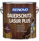 RENOVO Holzschutz-Lasur »PLUS«, für außen, 4 l, schwedischrot-Thumbnail