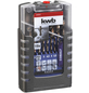 KWB HSS Metallbohrer Set, 35 mm, 19 Bohrer: 1 - 10 mm, Steigung 0,5 mm-Thumbnail