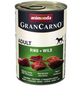 GranCarno® Hunde-Nassfutter »Adult«, Rind/Wild, 400 g-Thumbnail