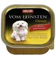 VOM FEINSTEN Hunde-Nassfutter »Classic«, Rind/Pute, 150 g-Thumbnail