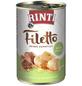 RINTI Hunde Nassfutter »Filetto«, Huhn / Ente, 12x420 g-Thumbnail