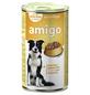 Amigo Hunde Nassfutter, Geflügel, 1240 g-Thumbnail